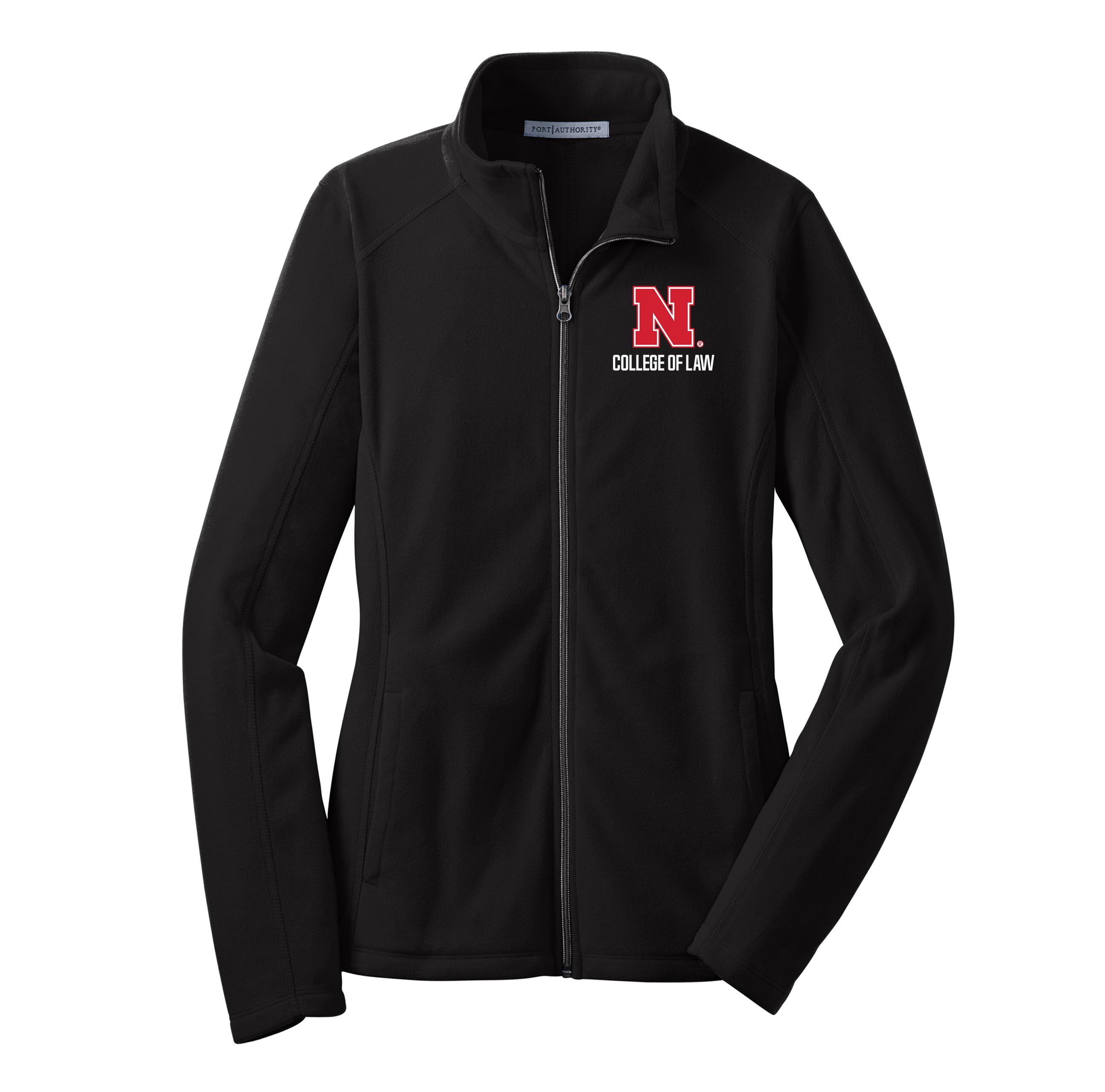 d2d01086c6b Ladies Microfleece Jacket - Nebraska College of Law