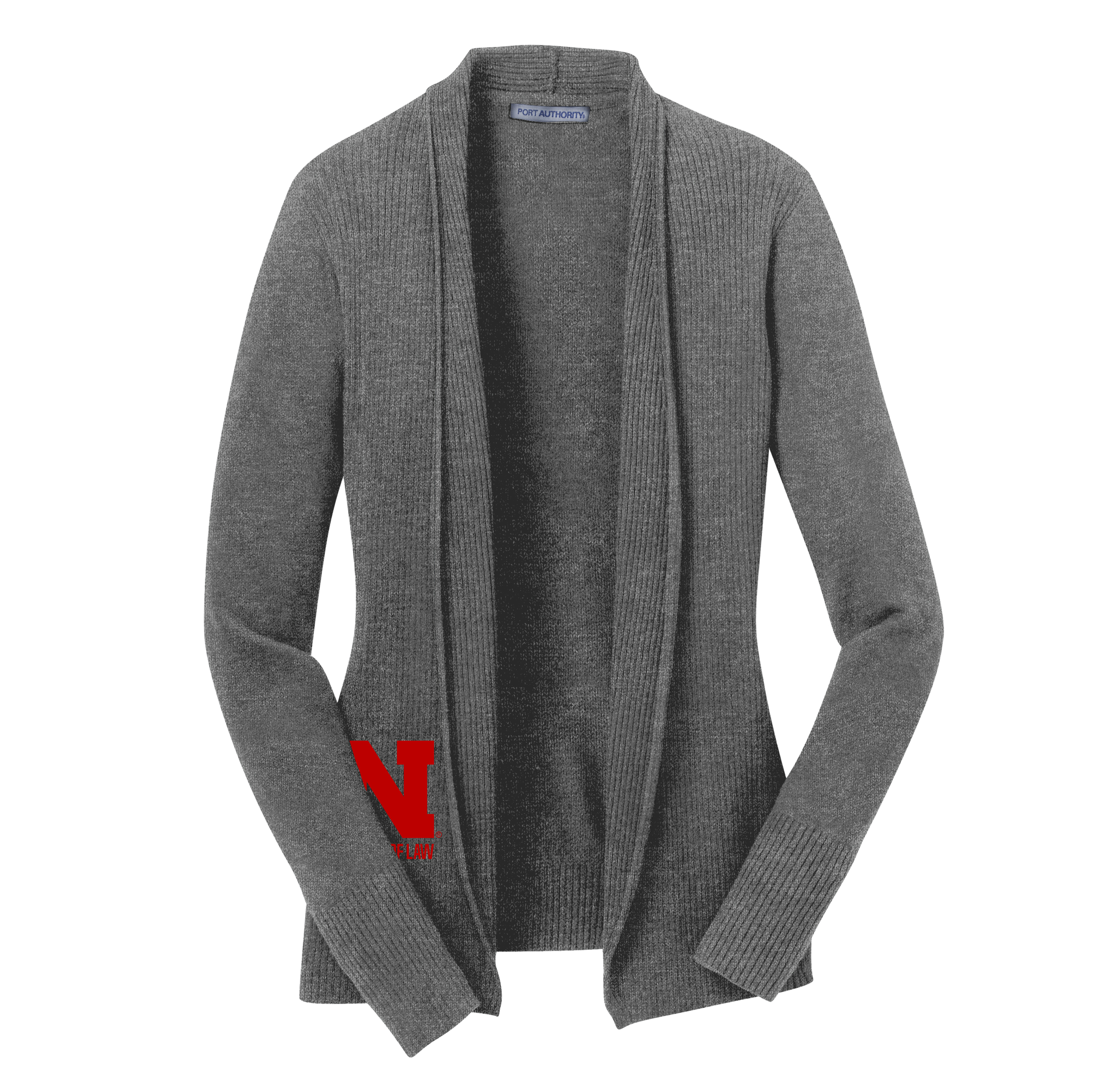 5a5570bf6ef Ladies Open Front Cardigan Sweater - Nebraska College of Law